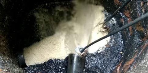 καθαρισμος αποχετευσης με πιεστικο στο Σουνιο